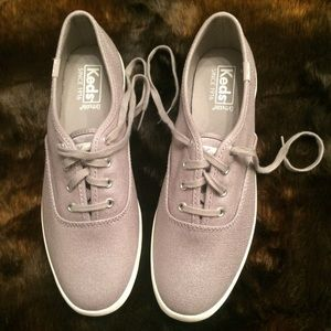 cb3b7536a04 Keds Shoes - Keds Ortholite Champion Metallic Linen Shoe